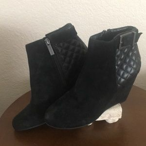 BCBGeneration Black Ankle Boots- Brand New-